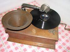 GUT SPIELENDE RADIOR GRAMOPHONE  fur 78 umd schellacs 78 rpm gramophone