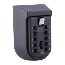 Outdoor Wall Mount Spare Key Safe Box Lock Holder Water Weatherproof V5R5