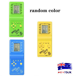 Kids Electronic Tetris Brick Game Handheld Game Machine LCD Educational Toy AL