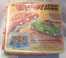 IDEAL MINI MOTORIFIC JALOPY SHOW DOWN RACE SET 1960s! BOXED