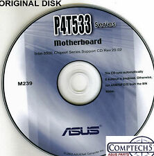ASUS GENUINE VINTAGE ORIGINAL DISK FOR P4T533 series  Motherboard Disk  M239