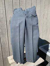 """WW2 WWII RCAF 1942 Battledress Trousers 34"""" Waist"""