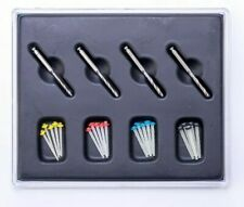 5 Kit Dental Endo Quartz Fiber Post Resin Glass Screw Pile& 4 Drills EASYISNMILE