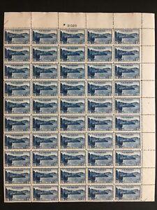 1934 sheet, 6-cent National Park, Crater Lake Sc# 745