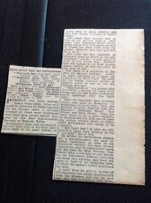 Ephemera 1948 Article Lp Review Pete Daily And His Chicagoans  M1515