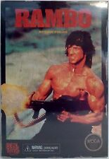"""RAMBO First Blood Part 2 NES 8-Bit Video Game Appearance 7"""" Figure Neca 2015"""