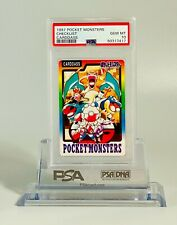 Pokemon 1997 PSA 10 Pocket Monsters Checklist Carddass Japanese Gem Mint