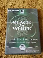 New Sealed Black & White Insel der Kreaturen Electronic Arts EA Games GERMAN