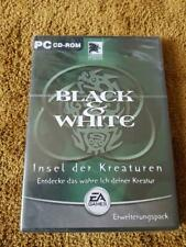 New Sealed Black & White Insel der Kreaturen Electronic Arts EA Games GERMAN