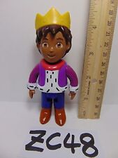 DORA THE EXPLORER TALKING DOLL HOUSE REPLACEMENT FIGURE PVC PRINCE BOY W/CROWN