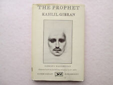 THE PROPHET by Kahlil Gibran 1963 HCDJ 68th Printing ALFRED A KNOPF Borzoi Book