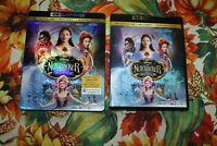 THE NUTCRACKER AND THE FOUR REALMS - DISNEY - 4K ULTRA HD AND BLURAY! NO DIGITAL