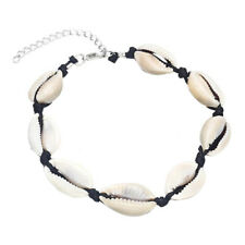 Rope Chain Barefoot Sandal Jewelry Boho Cowrie Shell Seashell Anklet Bracelet