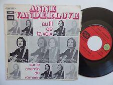 ANNE VANDERLOVE Au fil de ta voix 2C006 10275 Discotheque RTL