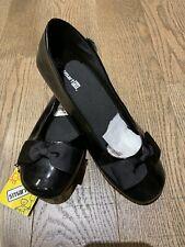 New Smart Fit - Black Slip On  Ballet Flat Kids Dress Shoes Size 5 1/2 Holidays