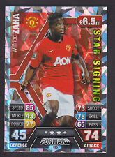 Match Attax 2013/14 - Star Signing - 198 Wilfried Zaha - Manchester United