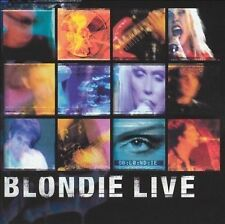 MUSIC CD Blondie Live 2004 Eagle Records Heart of Glass Rapture One Way Another