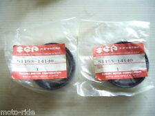 SUZUKI  RM125  RM 125  1983 MODEL  GENUINE NOS FORK SEALS   51153-14140