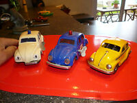 Voiture Miniature en tole et plastique VW VolksWagen Beetle Coccinelle