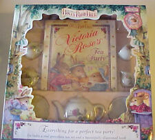 "Holly Pond Hill Victoria Rose's Tea Party ""Porcelian Tea Set & illustrated Book"