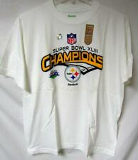 Pittsburgh Steelers Mens Large Super Bowl XLIII Champions T-shirt YZ 113