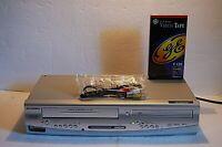 Sylvania DV220SL8 DVD 4-Head VCR VHS Recorder Combo Player  ~ No Remote