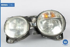 02-04 Jaguar S-Type X202 Left Driver Side Halogen Headlight Lamp XR8313006AA OEM