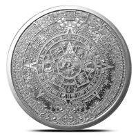 1 oz Silver Round | Aztec Calendar .999 Pure Silver - IN-STOCK!!