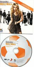 SHAKIRA WAKA WAKA RARE EU CDS IN CARD PS
