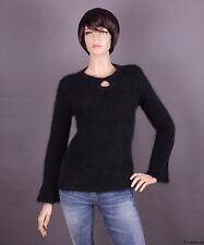 Angora Damen Pullover, Farbe: schwarz und Größe: S oder M (nach Wahl)