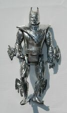 RARE SUPER HEROES BATMAN CHROME ACTION FIGURE MADE IN MEXICO 6'' TALL