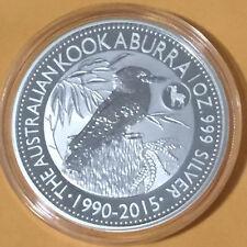 2015 Kookaburra Goat Privy 1 oz 999 Silver in Capsule from sealed Perth roll !!