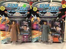 **COMBO** Star Trek The Next Generation PICARD & DATA AS ROMULANS Action Figures