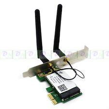 Network PCI-E Express 300M 802.11b/g/n Wireless WiFi Card Adapter for Desktop PC