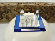Empress Casino Joliet Crystal paperweight collectors series