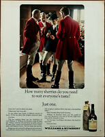 Williams & Humbert Sherry How Many Sherries Do You Need To Suit Everyone Ad 1965