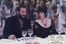 "Photo du film ""Camille CLAUDEL"" avec G. DEPARDIEU & I. ADJANI de B. Nuytten 1987"