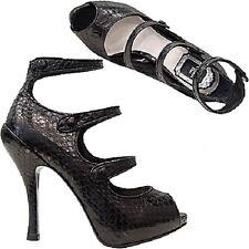 Christian Dior SPY Original sandali pitone donna ladies size 36  nero black