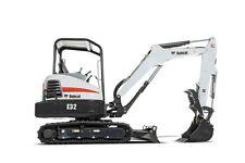 BOBCAT E32 Compact Excavator Service & Operator's Manual CD