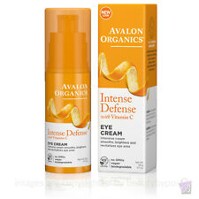 Avalon Organics intensa defensa Crema de Ojos Con Vitamina C, 29g
