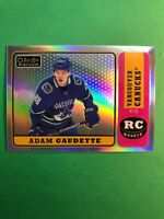 2018-19 OPC Platinum Retro Rainbow #R-68 Adam Gaudette Vancouver Canucks RC