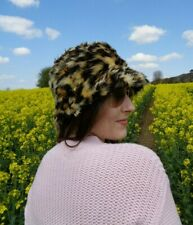 Fluffy Bucket Hats - Loads Of Colours And Prints! Festival Unisex Handmade