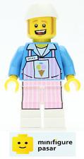 tlm031 Lego The Lego Movie 70804 - Ice Cream Mike Minifigure - New
