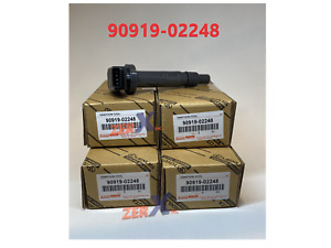 4pcs 90919-02248 Denso Ignition Coil for Toyota Tacoma Tundra Scion xB Lexus ISF