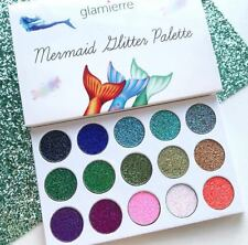 Glamierre Original Unicorn Mermaid Glitter Eye Shadow Cream Pigment Palette BNIB
