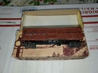 Roundhouse S-102 HO Scale All Die-cast Metal 40' Stock Car Kit RARE Penn kit.