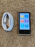 Apple iPod nano 7th Generation Space Gray (16 GB) -- Bundle