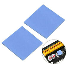 Blue GPU CPU Heatsink Cooling Thermal Conductive Silicone Pad 100mm*100mm*2mm