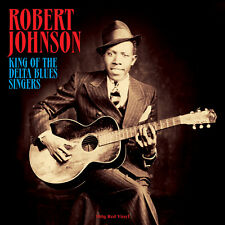 Robert Johnson-Re del Delta Blues CANTANTI (180g ROSSO VINILE LP) nuovi/sigillati