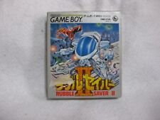 Rubble Saver 2 Boxed Nintendo Game Boy Japan Video Games